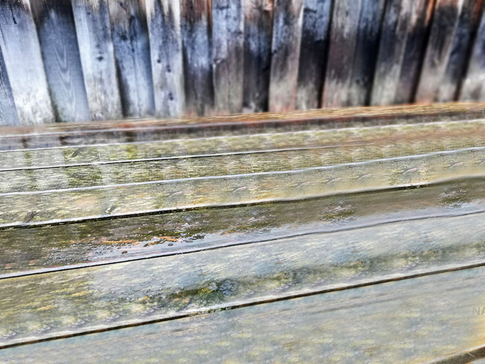 Holz schmutzig