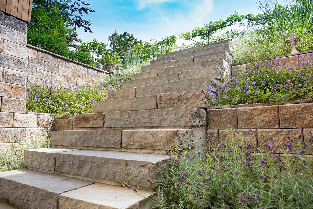 3raumGärtner Mauern und Treppen