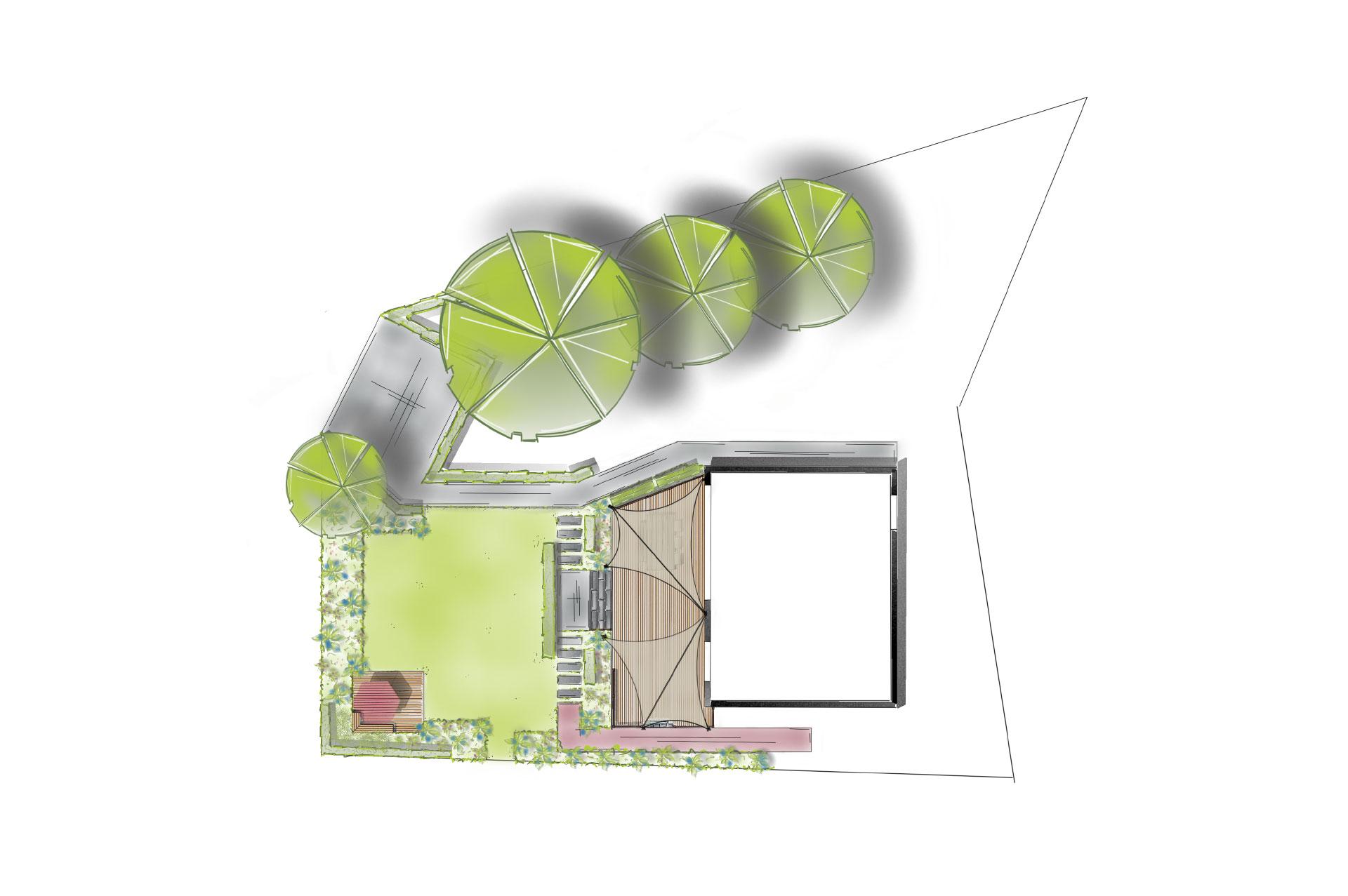 3raumPlaner Entwurfspläne