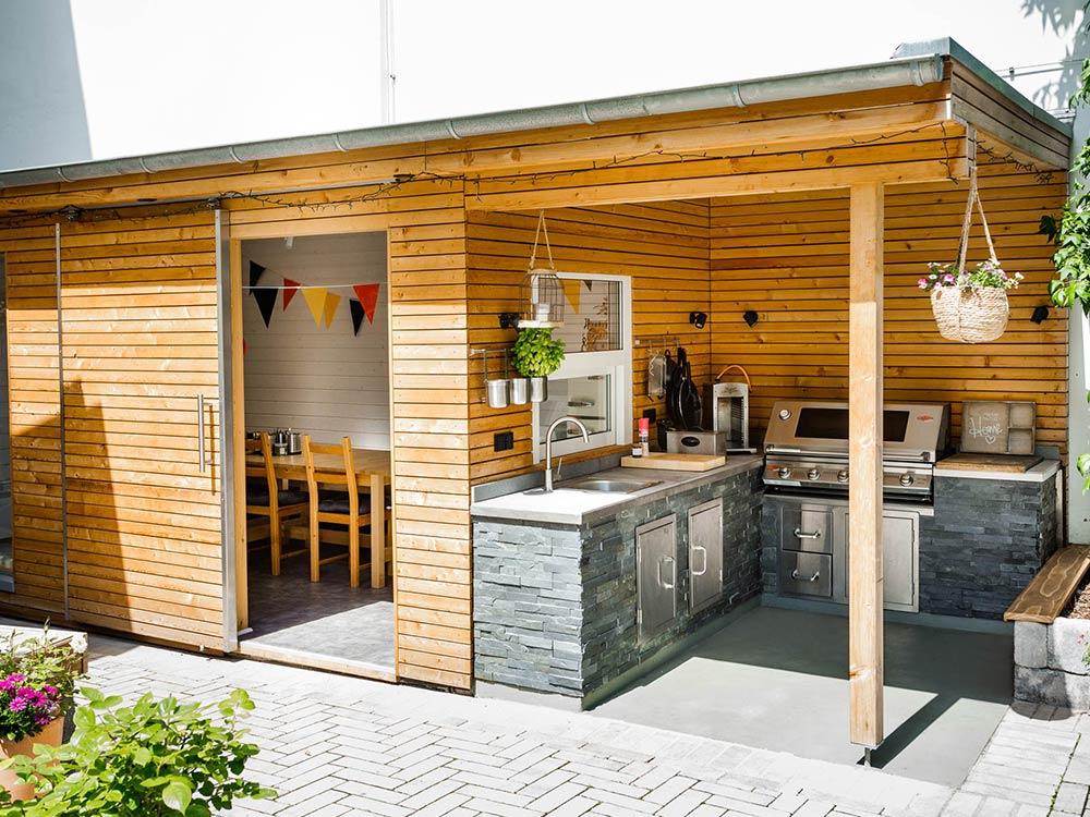 3raumGärtner Outdoor-Küchen